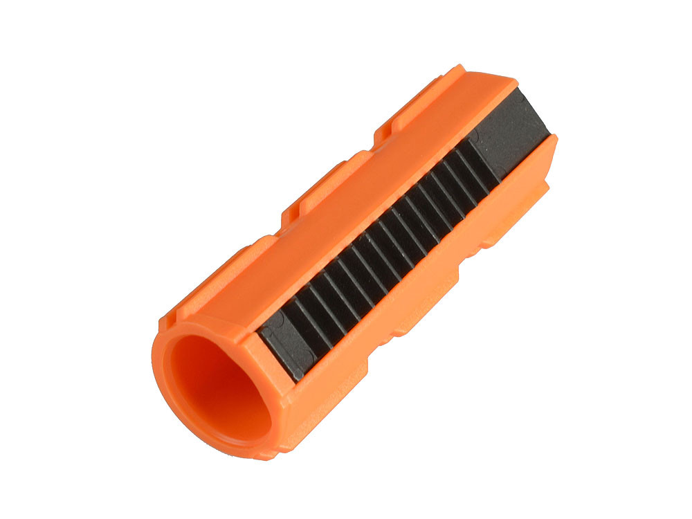 Blaze Orange Nylon Fiber Piston - Full Teeth