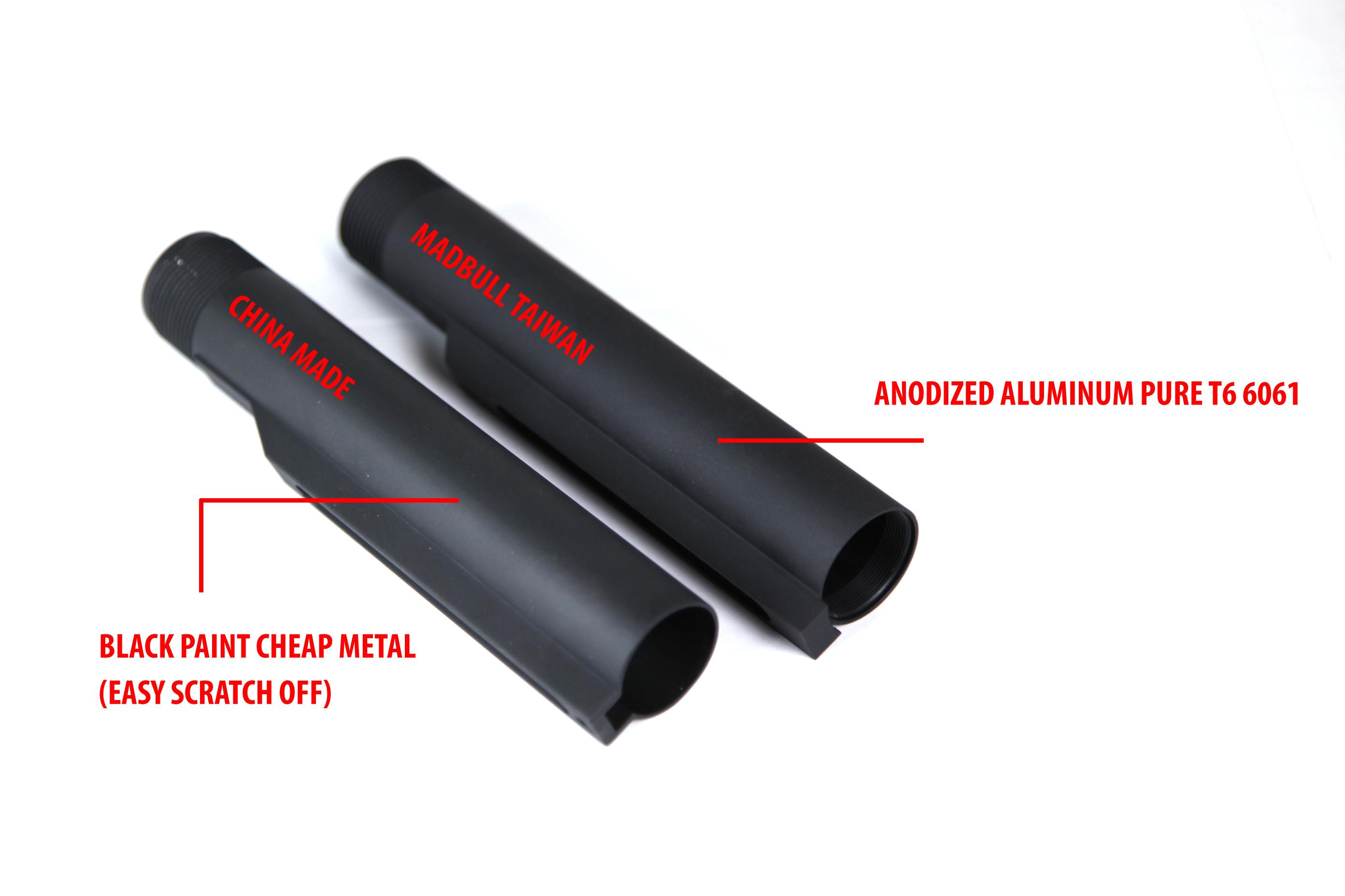 M4 Ace Stock Tube For Lipo Battery 187 Buttstock Stock