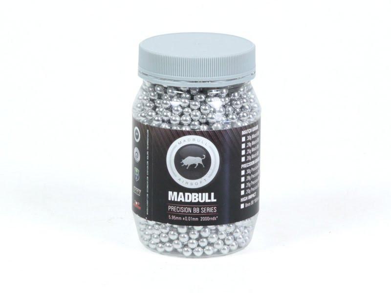 MadBull 0.30g Aluminum Target Practice BBs x2000
