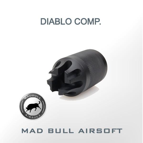 PWS Diablo Compensator Black