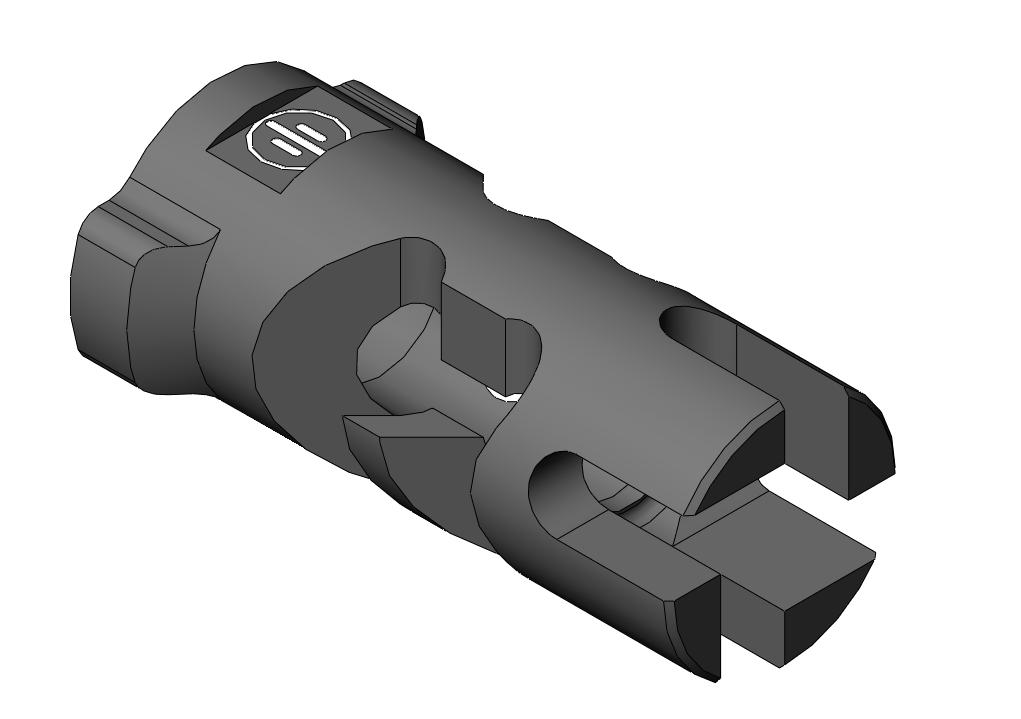 PWS FSC556 Quick Comp - 14mm CCW