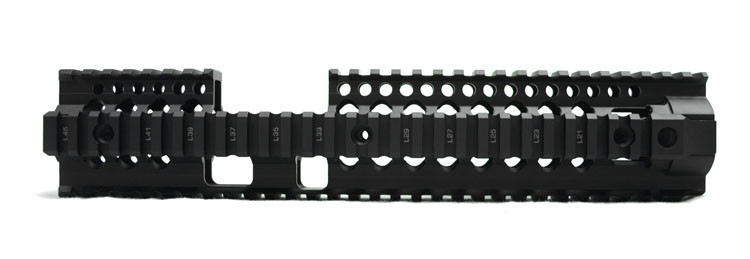 "Daniel Defense Licensed OmegaX rail 12"" FSP Black"