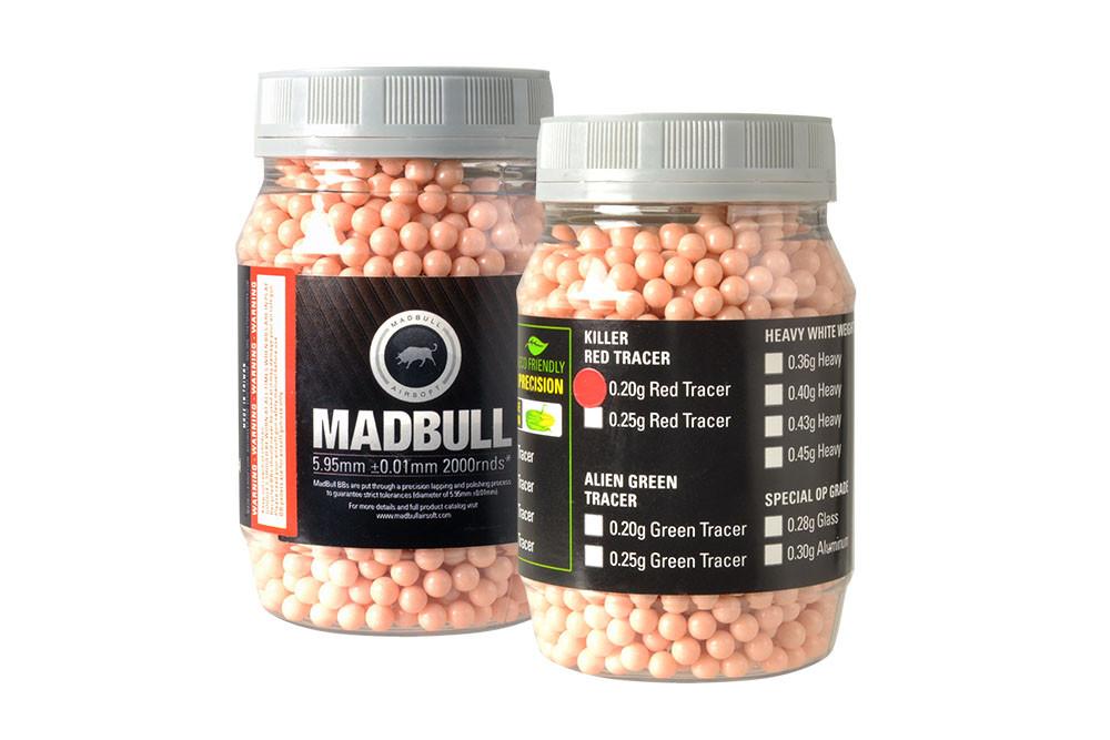 MadBull 0.20g RED Tracer BBs x2000