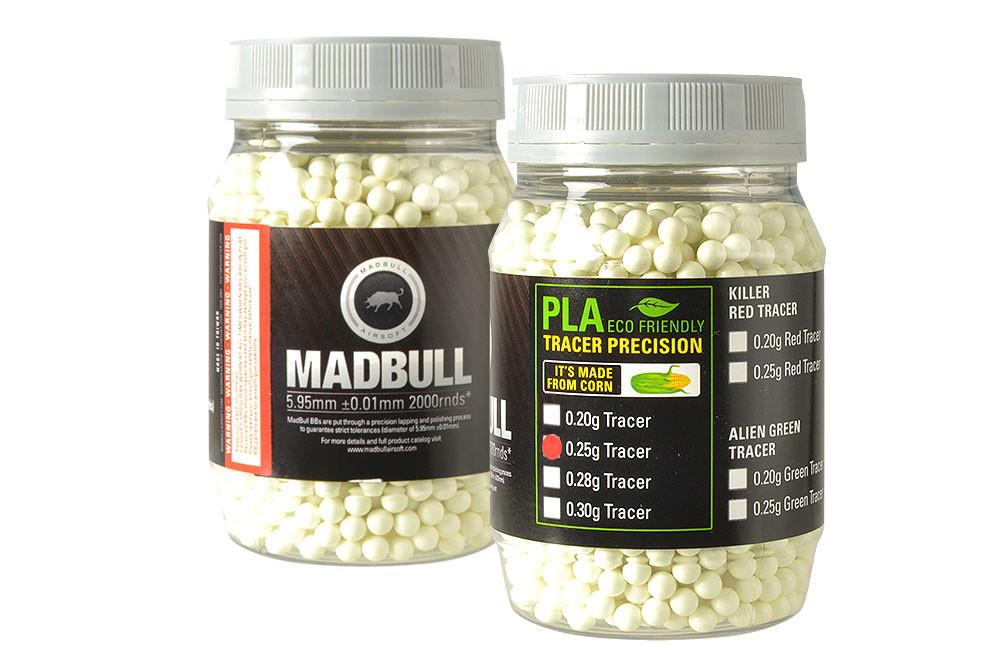 MadBull 0.25g PLA Tracer BBs x2000