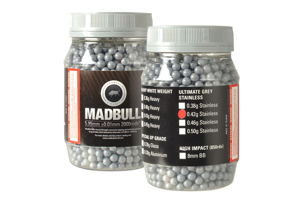 MadBull 0.42g Ultimate Grey BBs x2000