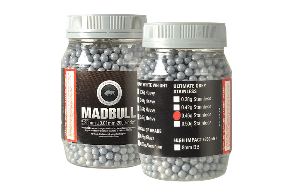 MadBull 0.46g Ultimate Grey BBs x2000