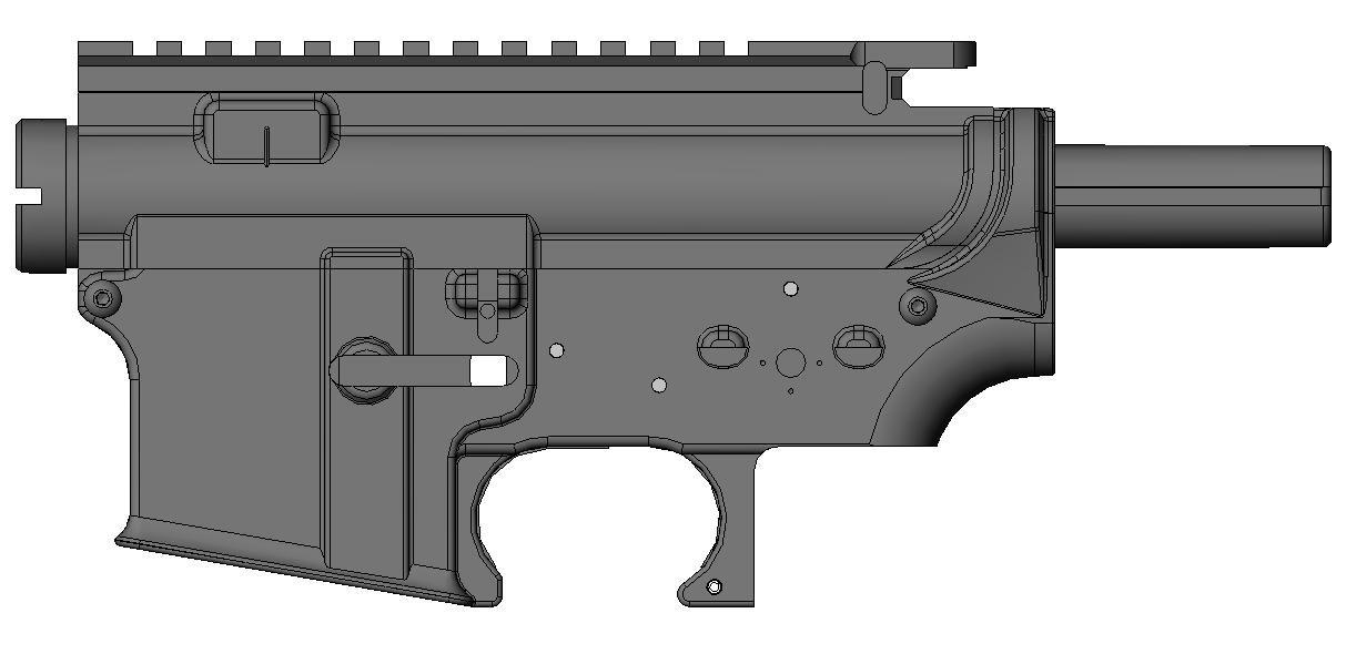 Gemtech M4 metal body