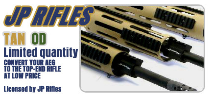 "Mid-Size 9.8"" Handguard w/ 1 Barrel Length-TAN"