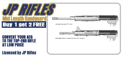 "Mid-Size 9.8"" Handguard w/ 1 Barrel Length (Buy 1 Get 2 Free)"