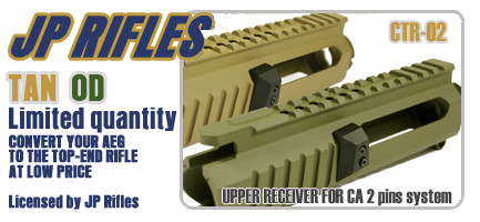 JP Rifles CTR-02 Upper-TAN