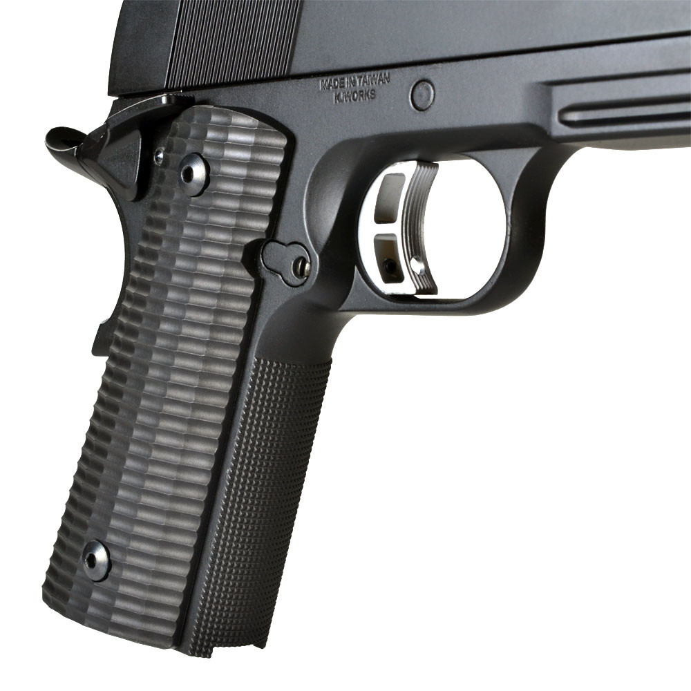 how to change 1911 grips