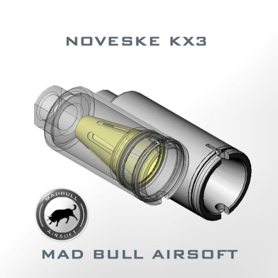Noveske KX3 ADJUSTABLE AMPLIFIER FLASH HIDER (OD)