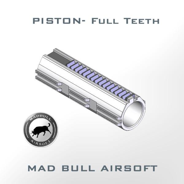 Piston-7 Steel Full Teeth (3 Lubricant Grooves + Polycarbonate)
