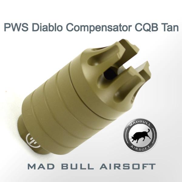 PWS Diablo Compensator Tan - CQB Version