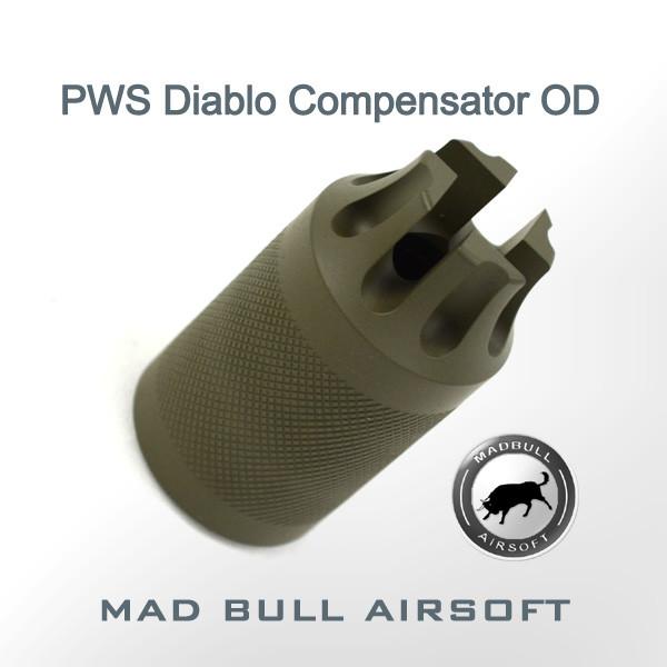 PWS Diablo Compensator Olive Drab