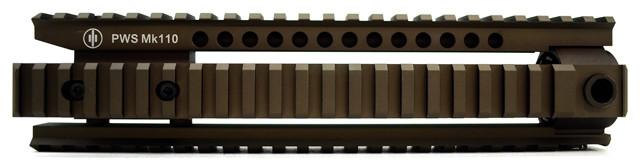 PWS MK110 Rail - Flat Dark Earth (FDE)