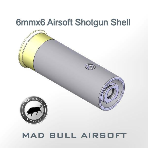 Shotgun Shell SS6 6mmx6 Airsoft