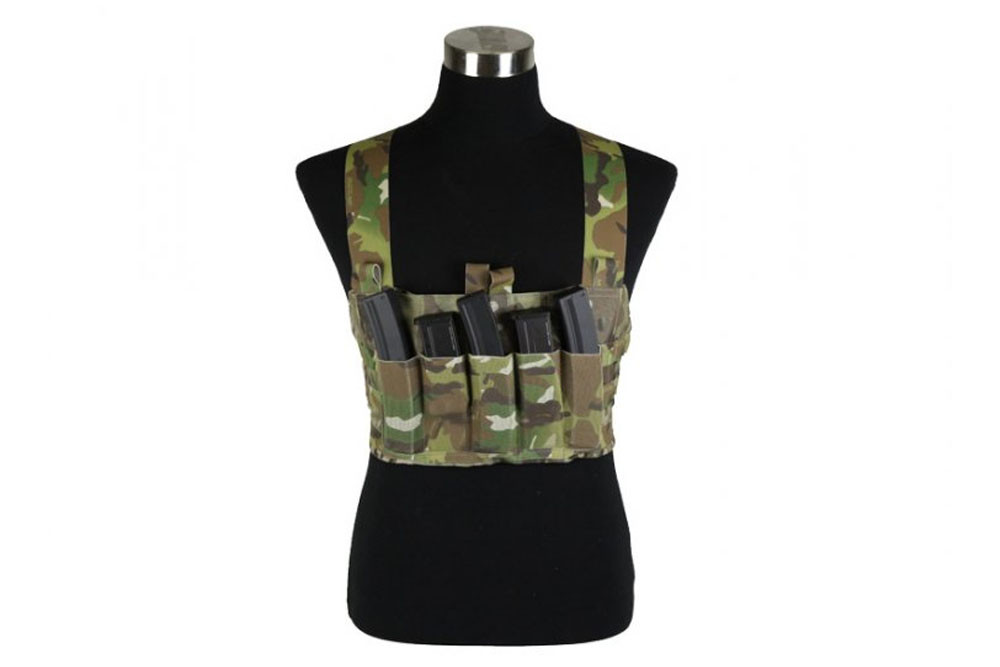 Ten-Speed MP7 Chest Rig - MC / CB