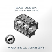 4 Sides Rails Gas Block