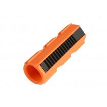 Blaze Orange Nylon Fiber Piston - Full Teeth