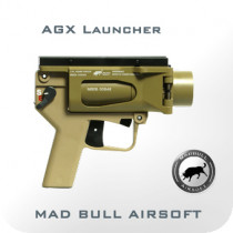 AGX Launcher - Light Version- Desert Combat Tan