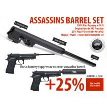 Assassins 235mm barrel set for SOCOM / WE M9A1