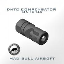 DNTC Compensator Black (DNTC-04-BLK) - 14mm CW (+)
