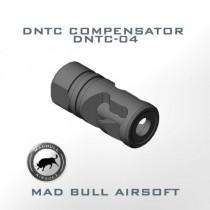 DNTC Compensator Silver (DNTC-04-2 Tones Color) - 14mm CW (+)
