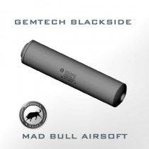 Gemtech BLACKSIDE Toy Silencer and Aluminum Tube-OD