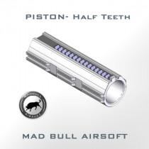 Piston-7 Steel Half Teeth (3 Lubricant Grooves + Polycarbonate)