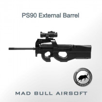 PS90 P90 extension external barrel 14mm CCW