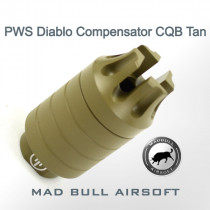 PWS Diablo Compensator Tan - CQB Version