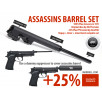 Assassins 235mm barrel set for SOCOM / WE M9A1