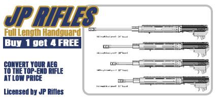 "Full-Size 12"" Handguard w/ 4 Barrel Lengths (Buy 1 Get 4 Free)"
