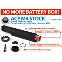 M4 ACE Stock Tube (For LiPO Battery)