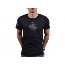 Ludus Costa T-shirts-BK. Size: S, M , L, XL, 2XL, 3XL