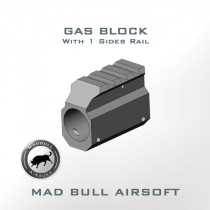 Top Rail Gas Block