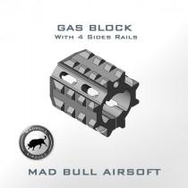 4 Sides Rails Gas Block