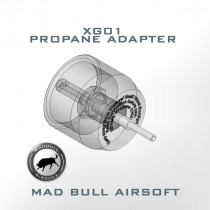 Propane Adapter XG01 For Airsoft Propane Use only
